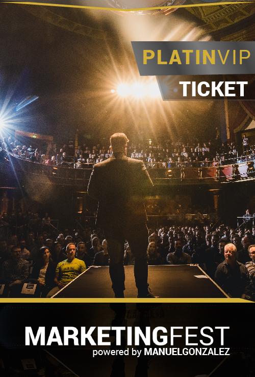Marketingfest Platin-VIP-Ticket