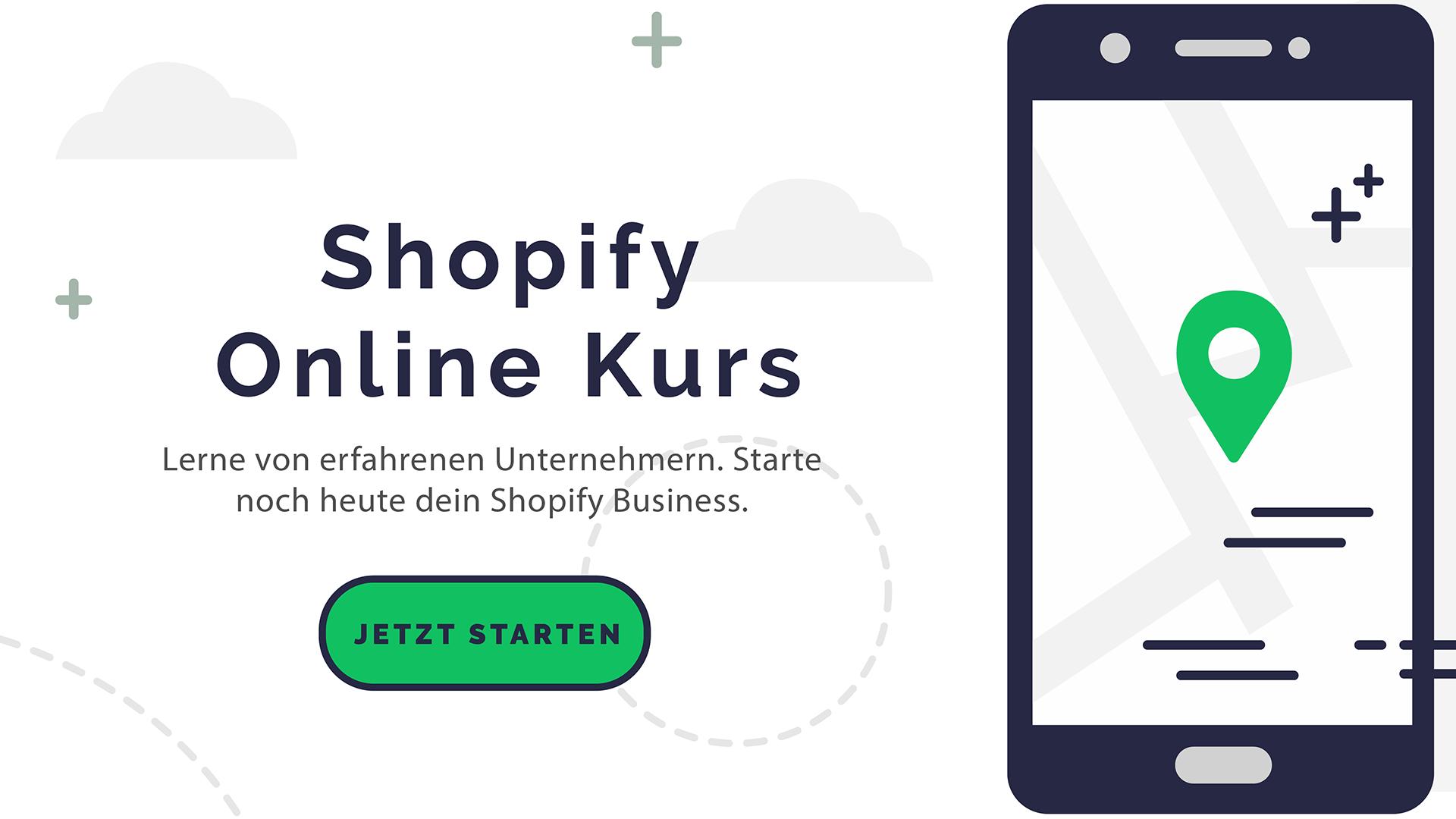 Shopify Meisterkurs für Einsteiger Partnerprogramm