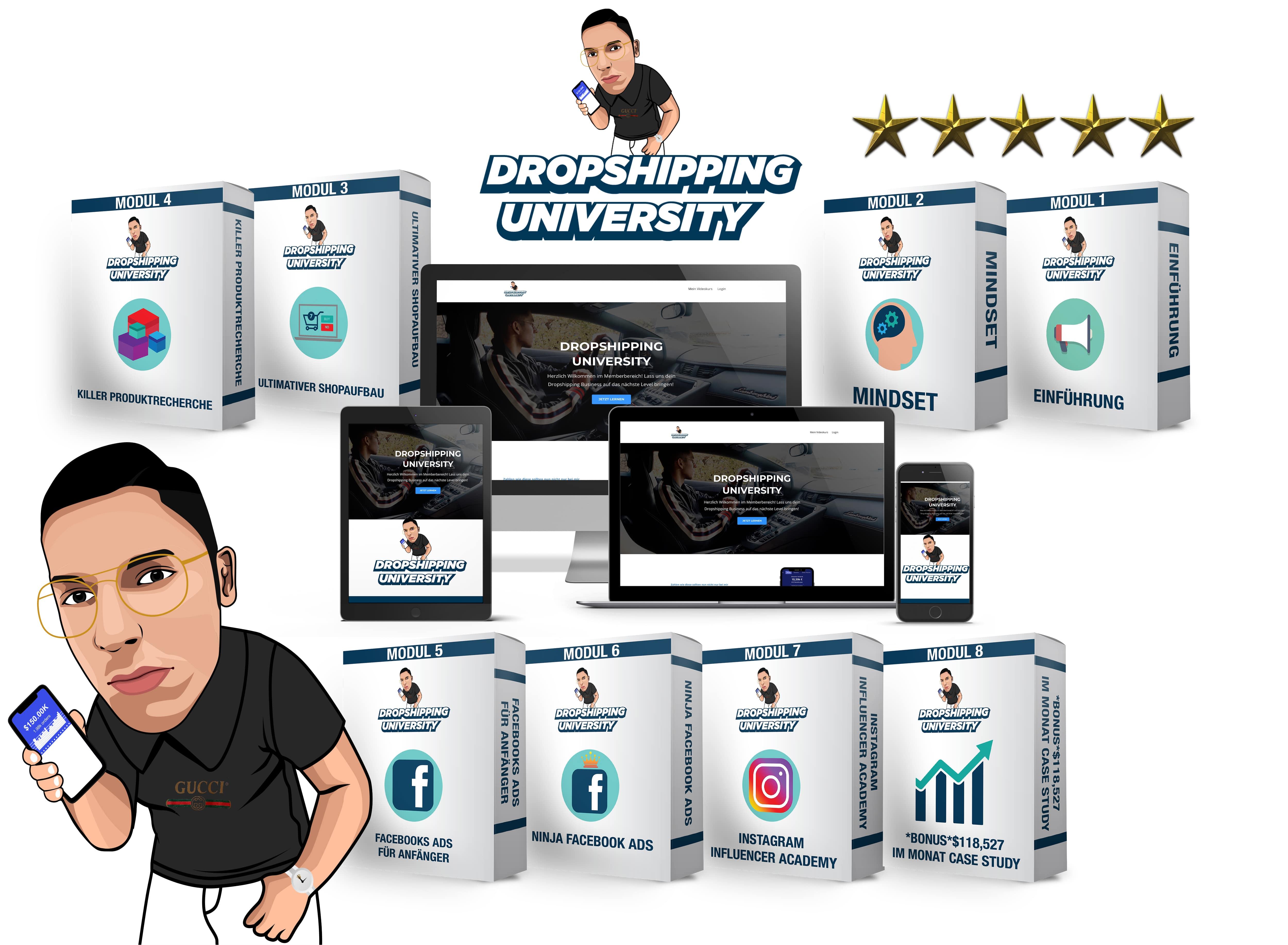 Dropshipping University - Sonderangebot