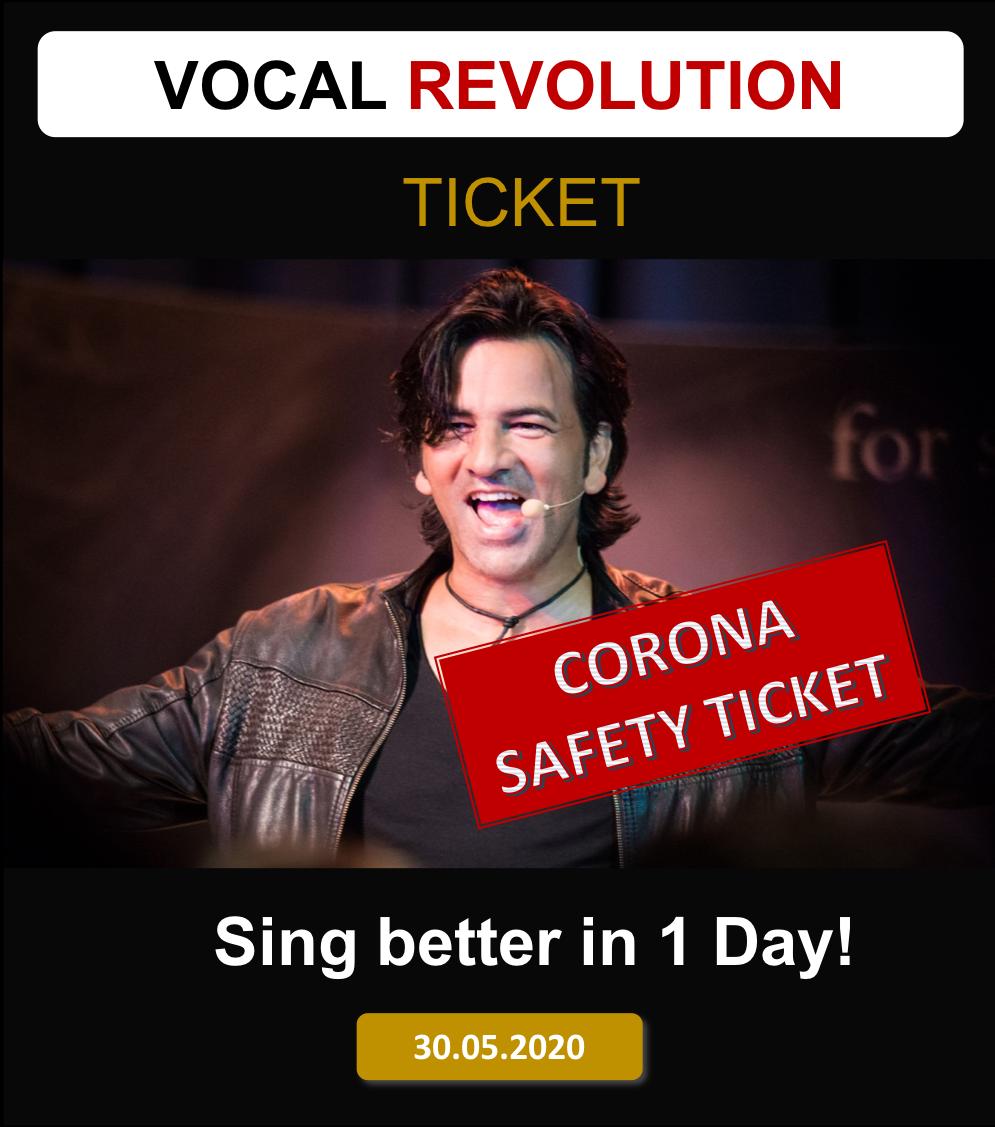 VOCAL REVOLUTION LIVE-STREAM TICKET